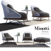 The Rivera Armchair / Minotti Rivera Armchair