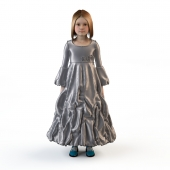 Children's festive dress 1