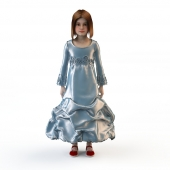 Children's festive dress 2