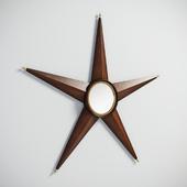 GRAMERCY HOME - STARBURST MIRROR 901.015-CRC