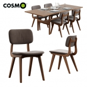 Cosmo / Trestle Table + Civil Chair