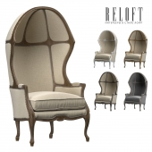 ARMCHAIR WITH VERSAILLES DOME