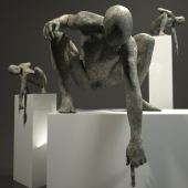 Sculpture, look,