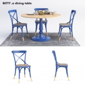 Betty Round Dining Table