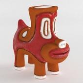 Ceramic figurine The Dog