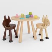 Children's furniture set (Forest Manufactories)