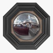 Jonathan Sainsbury - Octagonal convex mirror