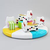 Carousel Hello Kitty