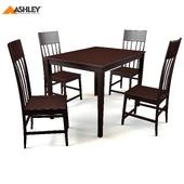 Ashly compact dining set (5 / CN)