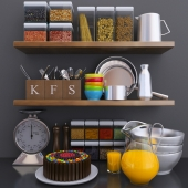 Kitchen Decoration Set - 2