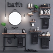 Loft Bathroom Set