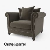 Crate and Barrel Durham Chair