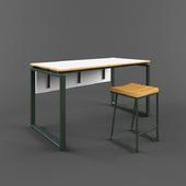 Table and stool, Supernova