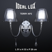 Wall bracket Ideal Lux TERRY AP2