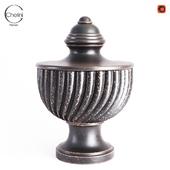 Chelini Firenze Nero Vase