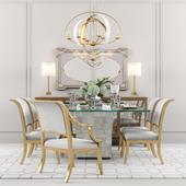 Trimbelle Dining Table (Bernhardt)