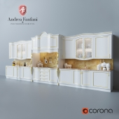 "Kitchen set ""Andrea Fanfani"""