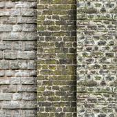 Кирпичной стены