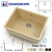 Kitchen sink - Omoikiri Kata 54-U (8 colors)