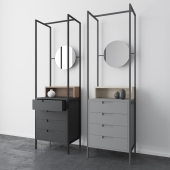 Alexandra mirror drawers