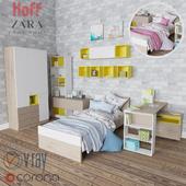 Набор для детской Hoff Фьюжн постельное Zara Home для мальчиков и девочек