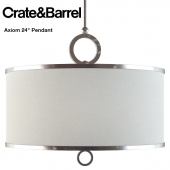 "Crate and Barrel / Axiom 24"" Pendant"