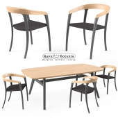 Royal Botania Jive chair   Zidiz table