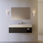 Set of bathroom furniture Falper Quaddro Zero