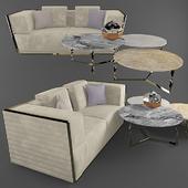Triple sofa empire rugiano