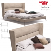 Bed Cattelan Italia Ludovic