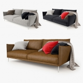 Moroso Gentry 2 Seater Sofa
