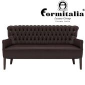 Two-seat sofa, Form Italia