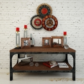 On the contest Set of decor in the loft style: Uttermost, IMPORTHOME, DG-HOME,