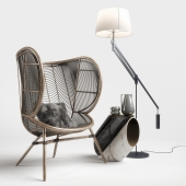 Greige Design Olaf Chair Set