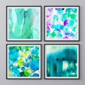 Abstract theme paintings2