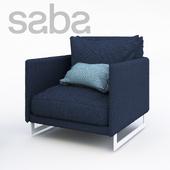 Saba Italia LIVINGSTON armchair