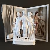 "Sculpture ""Three Graces"""