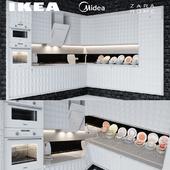 Ikea Herrestad & Midea & Zara home