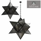 Chandelier Morocco Black Star