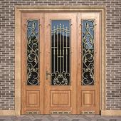 Entrance classic door