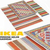 IKEA PERSISK KELIM GASHGAI SET