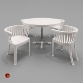 Roto table and chair