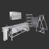Professional kitchen equipment 2