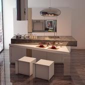 Кухонный гарнитур ROOMS, PORCELANOSA Grupo, Испания