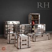 Мебель / RH Richards Metal Trunk Furniture