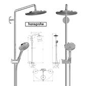 Shower Raindance Select S 240 Showerpipe