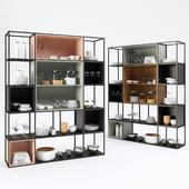 Iron shelf for kitchen 2