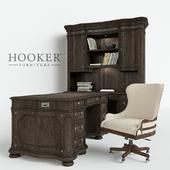 A set of furniture Hooker Home Office Vintage West Executive