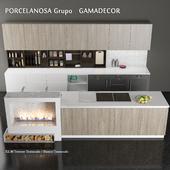 Кухонный гарнитур E2.30, PORCELANOSA Grupo GAMADECOR, Испания