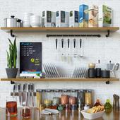 Kitchen Decoration Set - 4